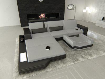 Sofa Dreams Berlin Stoffsofa Mix MESSANA L-Form Jetzt bestellen - wohnzimmer lila braun