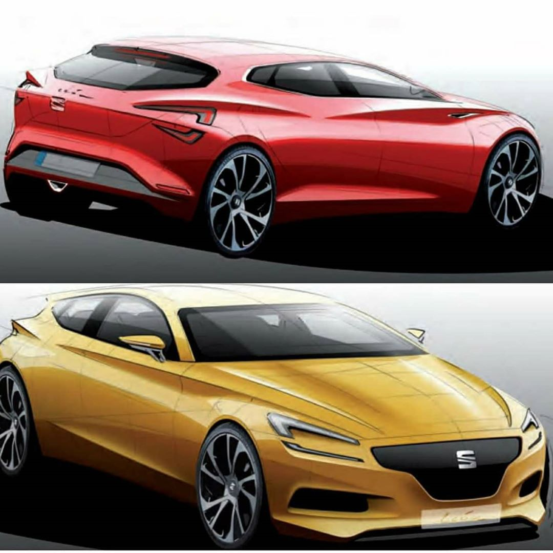 Seat Leon exterior proposals by Christian Felske. What are your thoughts? #seat #seatleon × × × #cars #design #luxurylife #supercars #cool #lux #sportscar #jdm #designoftheday #4x4 #art #coolcarsndesigns #exotics #love #fashion #exteriordesign #beautiful #cardesign #girls #inspiration #cardesigndaily #tbt #style #widebody #offroad