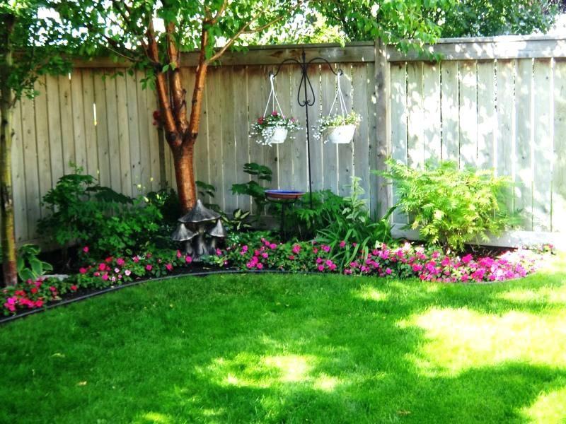 Image Result For Corner Fence Landscaping Ideas Corner