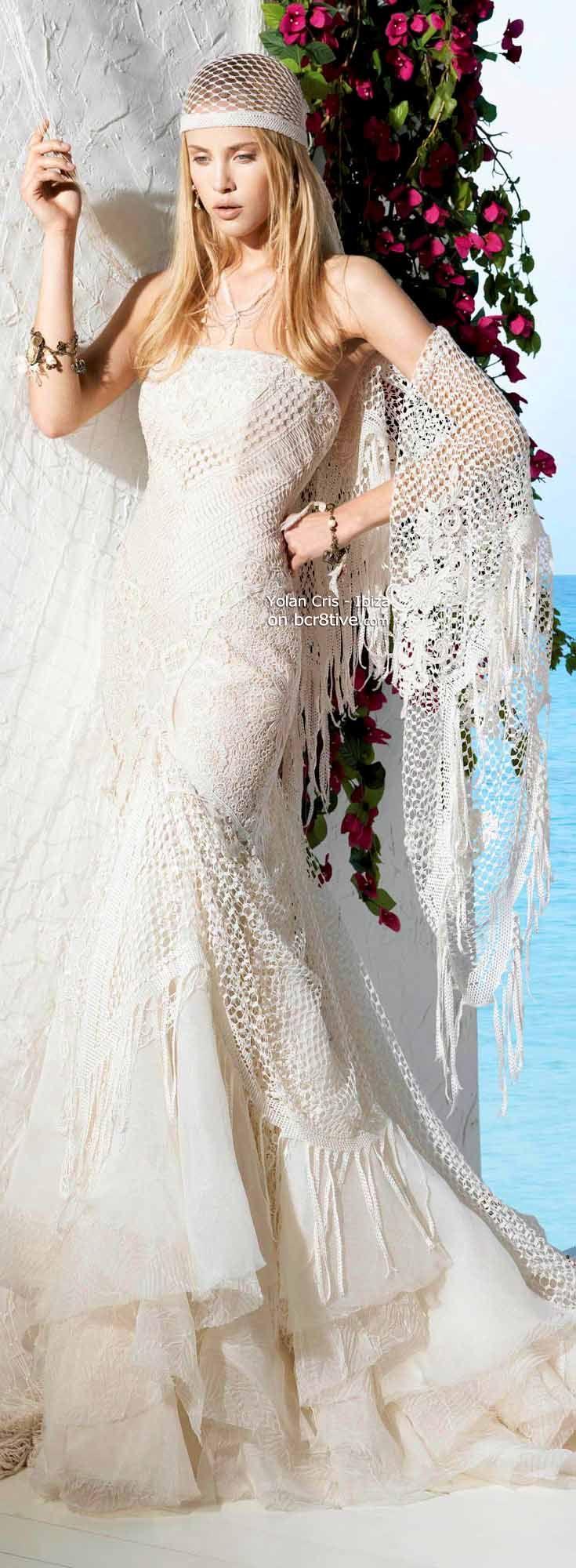 Yolan Cris 2013 Ibiza Bridal Collection   Pinterest   Hochzeitskleid ...