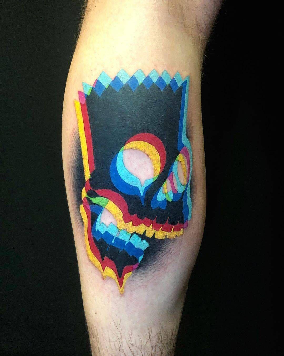 Photo of Tatouage traditionnel surréaliste par Adam Friedman