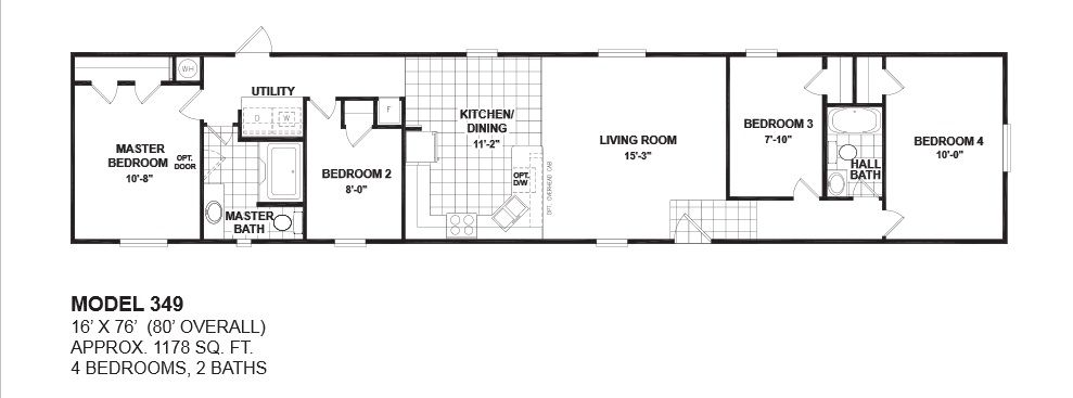 Mobile Home Floor Plans 4 Bedroom Google Search Mobile Home Floor Plans Single Wide Mobile Homes House Floor Plans