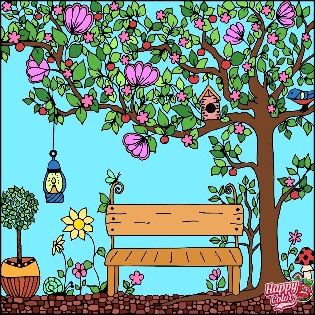 Пин от пользователя Alisa на доске расскраска   Дерево