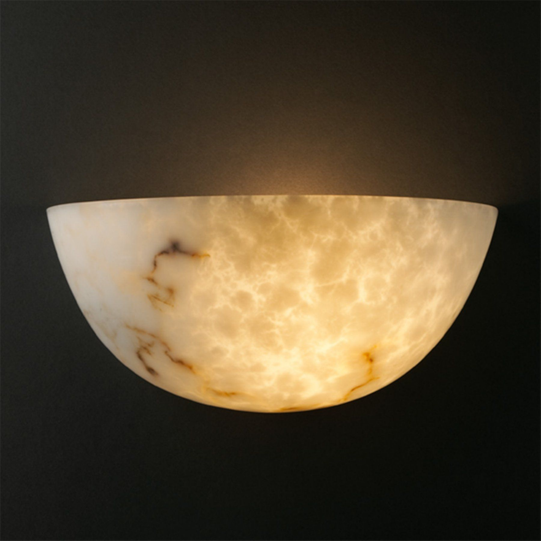 Justice Design LumenAria FAL-1300 Quarter Sphere Wall Sconce - FAL-1300