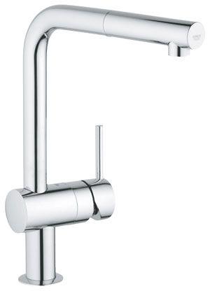 15993 - Grohe Minta Kitchen Sink Tap L Shape Spout Pull out spray - k chenarmatur mit schlauchbrause