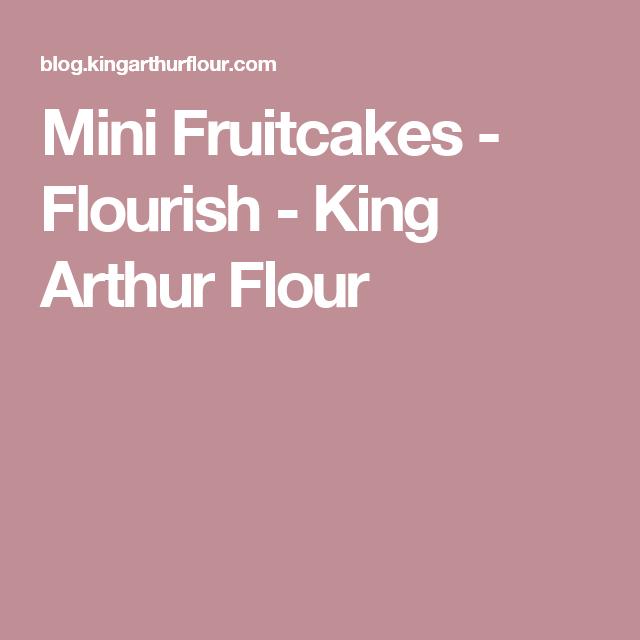 Mini Fruitcakes - Flourish - King Arthur Flour