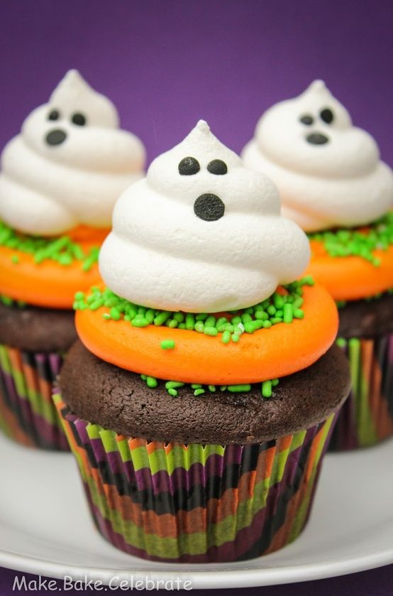 PinLaVie Make your pins come true \u2013 Halloween Cupcake Ideas - decorating ideas for halloween cupcakes