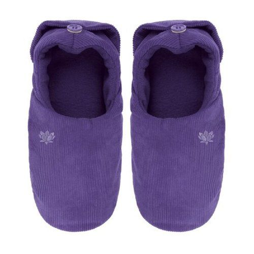 ccd4d2db5 Ladies Aroma Home Lavender Scented Microwavable Slippers   Feet ...