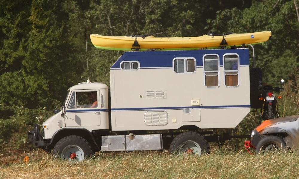 Unimog 404 Camper Unimog Expedition Vehicle Recreational Vehicles