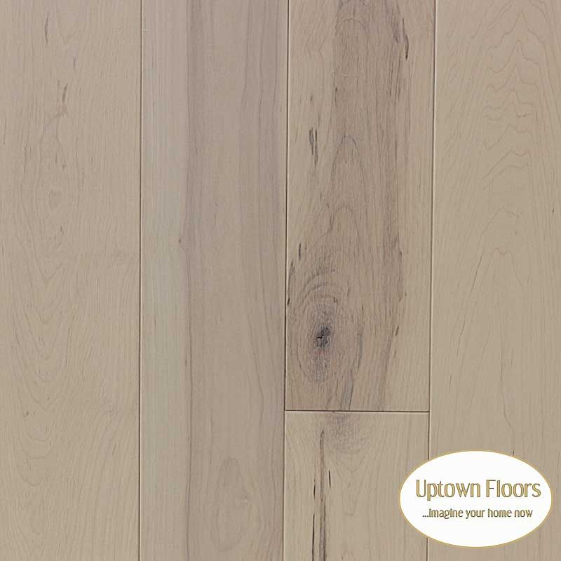 New Gray Stained Maple Floors: Off White Stained Character Maple