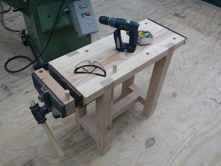 Mini Workbench!   By Michaelgurrado @ LumberJocks.com ~ Woodworking  Community #WoodworkingBench | Workstations | Pinterest | Woodworking, Bench  And Bench ...
