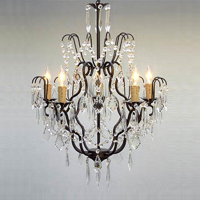 This beautiful chandelier from regent features five lights and is wrought iron chandeliers pendant lighting dress up your home with one of these stunning chandeliers or pendant lights mozeypictures Choice Image