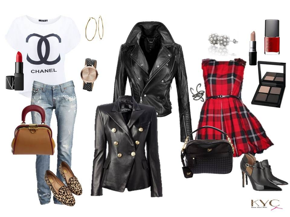 Love the versatility of a Black Leather Jacket. https://knowyourcloset.wordpress.com/2014/12/13/all-i-want-for-christmas/