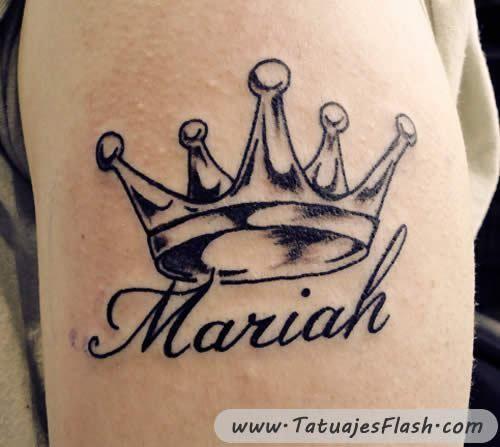 Coronas Tatuajes Buscar Con Google Tatuajes De Nombres Tatuaje De Corona Disenos De Tatuaje De Nombres