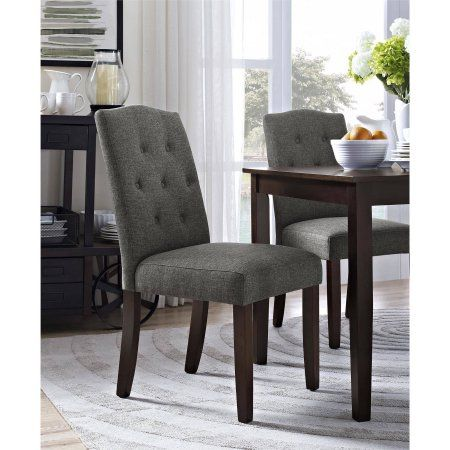 aca74e4414200b62dc353f288e120702 - Better Homes And Gardens Parsons Tufted Dining Chair Beige