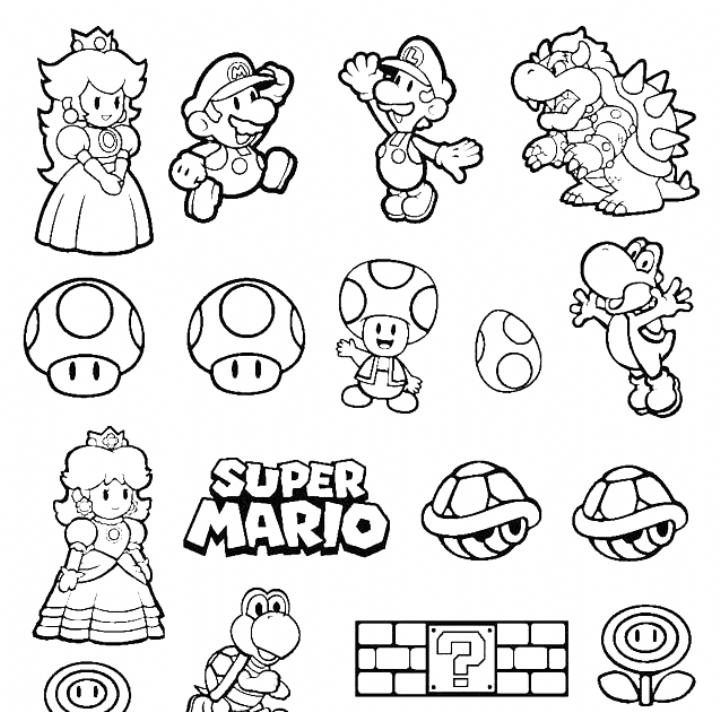 Coloring Pages Mario Brothers Berbagi Ilmu Belajar Bersama Coloring Pages Mario Bros Color In 2020 Super Mario Coloring Pages Mario Coloring Pages Super Mario Tattoo