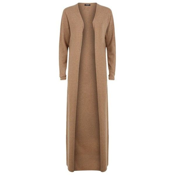 Harrods of London Cashmere Maxi Cardigan ($490) ❤ liked on ...