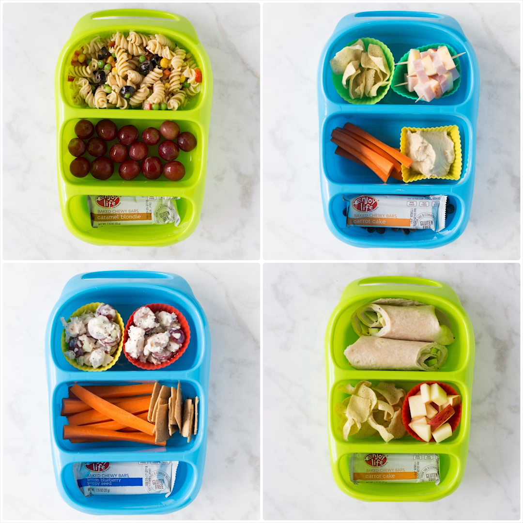 4 Allergy-Friendly Lunch Boxes images