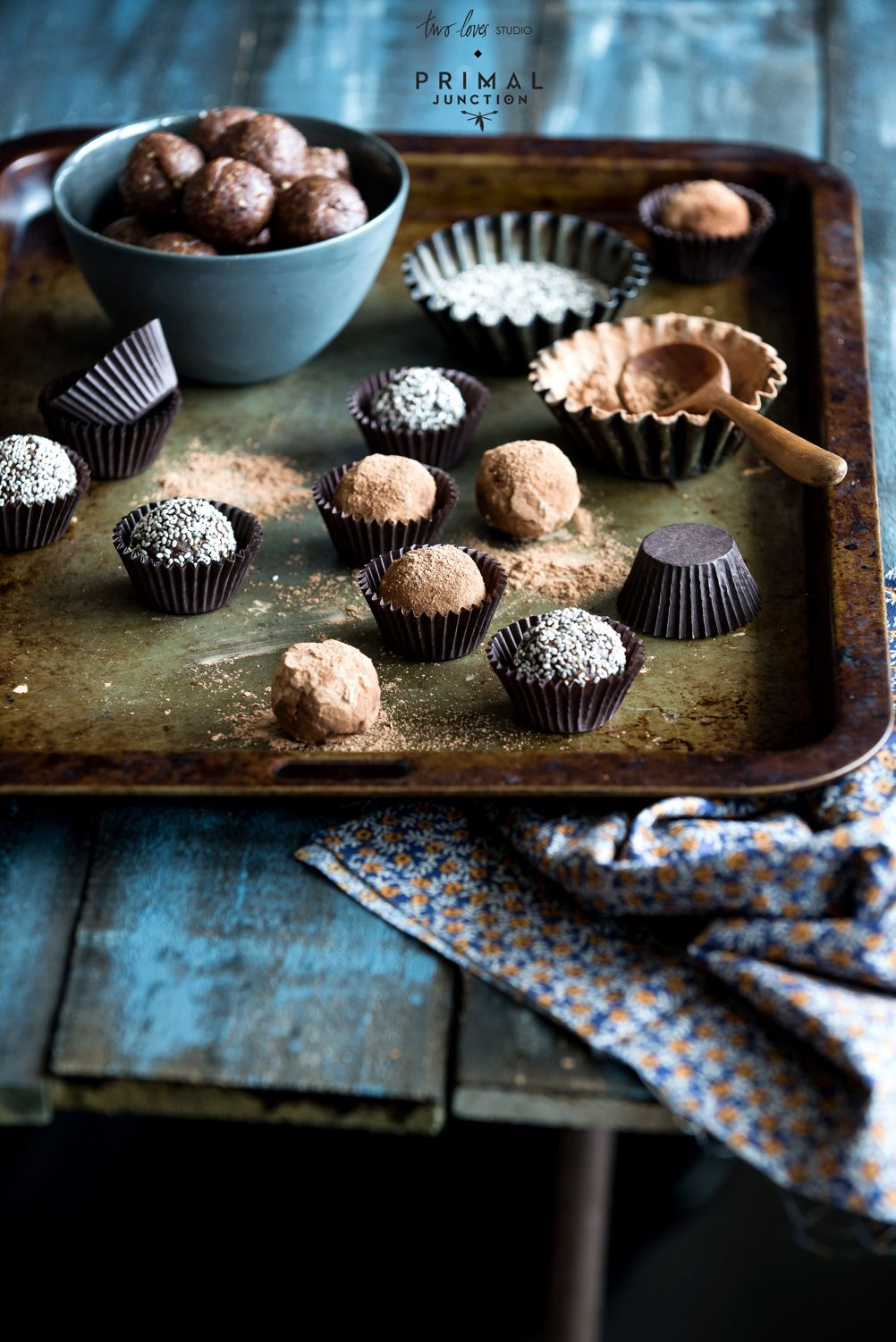 Chewy Mocha Powerballs from Paleo  © twolovestudio.com | rachel jane