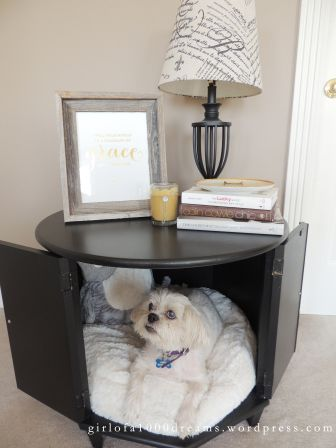 Girl Of A Thousand Dreams Thrift Store Hash Side Table Pet Bed Dog Bed Bed Furniture Decor