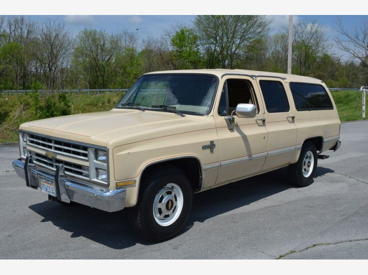 1987 Chevrolet Suburban 2WD 2500 for sale near Cookeville