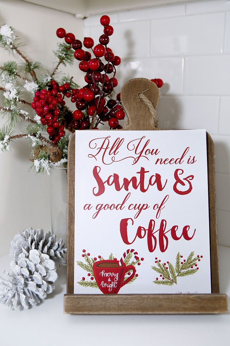 Holiday Coffee Hot Cocoa Bar Free Christmas Party Printables With International Delig Christmas Party Printables Free Christmas Printables Coffee Bar Party