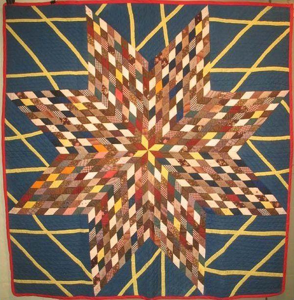 Starburst Antique Quilt at Laura Fisher Quilts. A unique variation ... : laura fisher quilts - Adamdwight.com