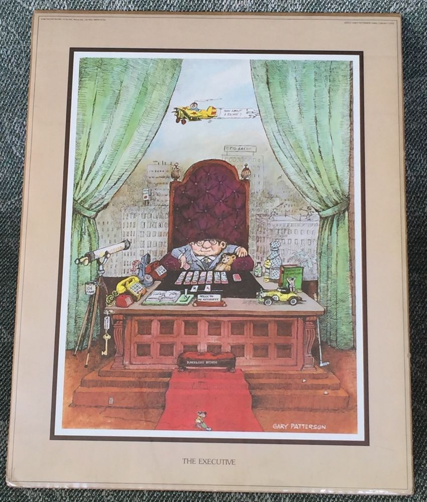 """Gary Patterson """"The Executive"""" 11 x 14 Collection 11425"""