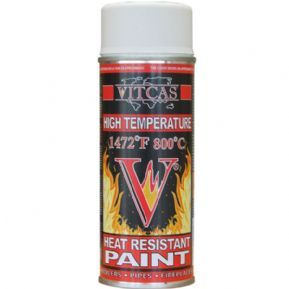 Vitcas Heat Resistant Paint High Temperature Spray White