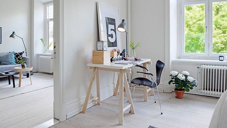 Populaire 5 bureaux à l'ambiance scandinave | Bureau scandinave, Deco bureau  TJ72