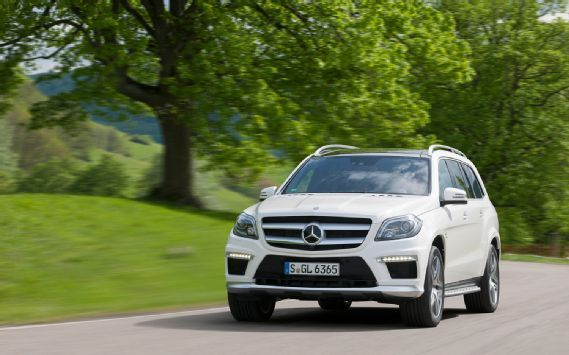 The Mercedes Benz GL63 AMG is coming to America