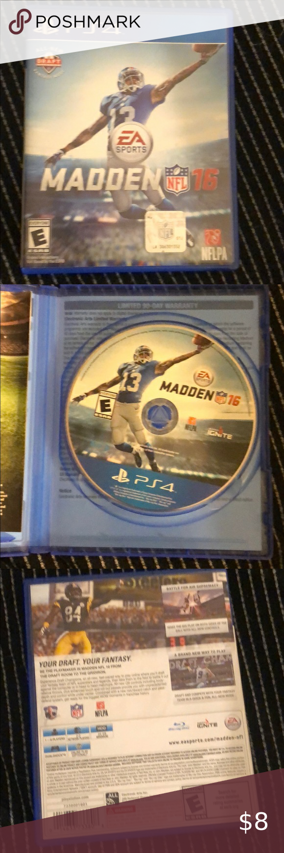 Madden 16 Ps4 Playstation 4 Console Playstation 4 Madden Nfl