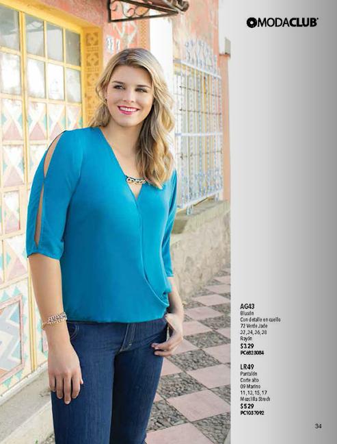cddbbcd7e5c catalogo de ropa tallas extras moda primavera-verano 2014 modaclub.  www.catalogomodaclubropa.com