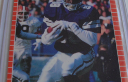 I will sell my 1989 Michael Irvin pro set #89 for $6.00