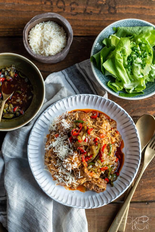 Wiener Reisfleisch Mit Salsa Aus Kitchen Impossible Rezept