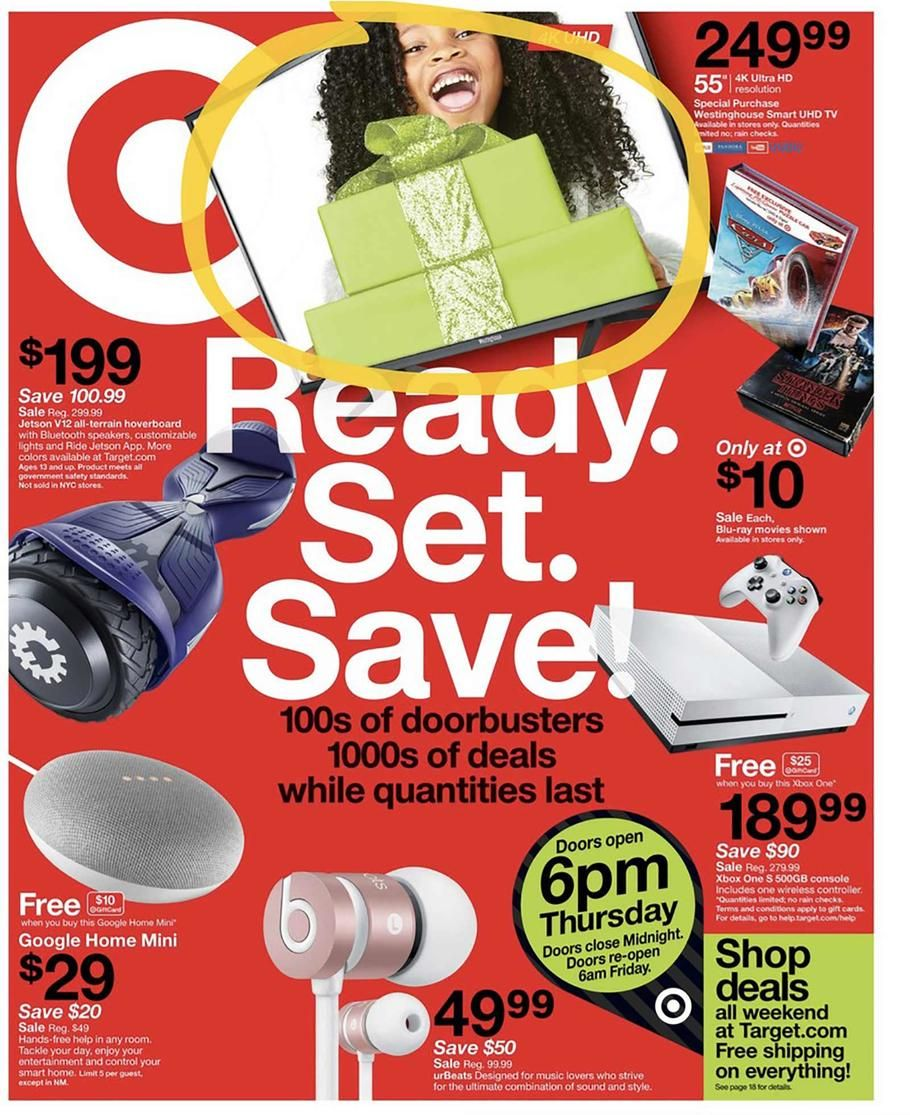 Target Black Friday 2017 Ad Scan Deals and Sales coupons