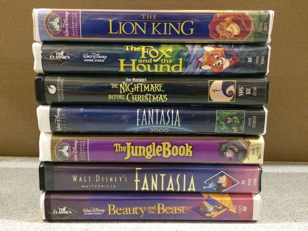 Pin By Dami Ventus On Girl Disney Vhs Tapes Jungle Book Fantasia Disney
