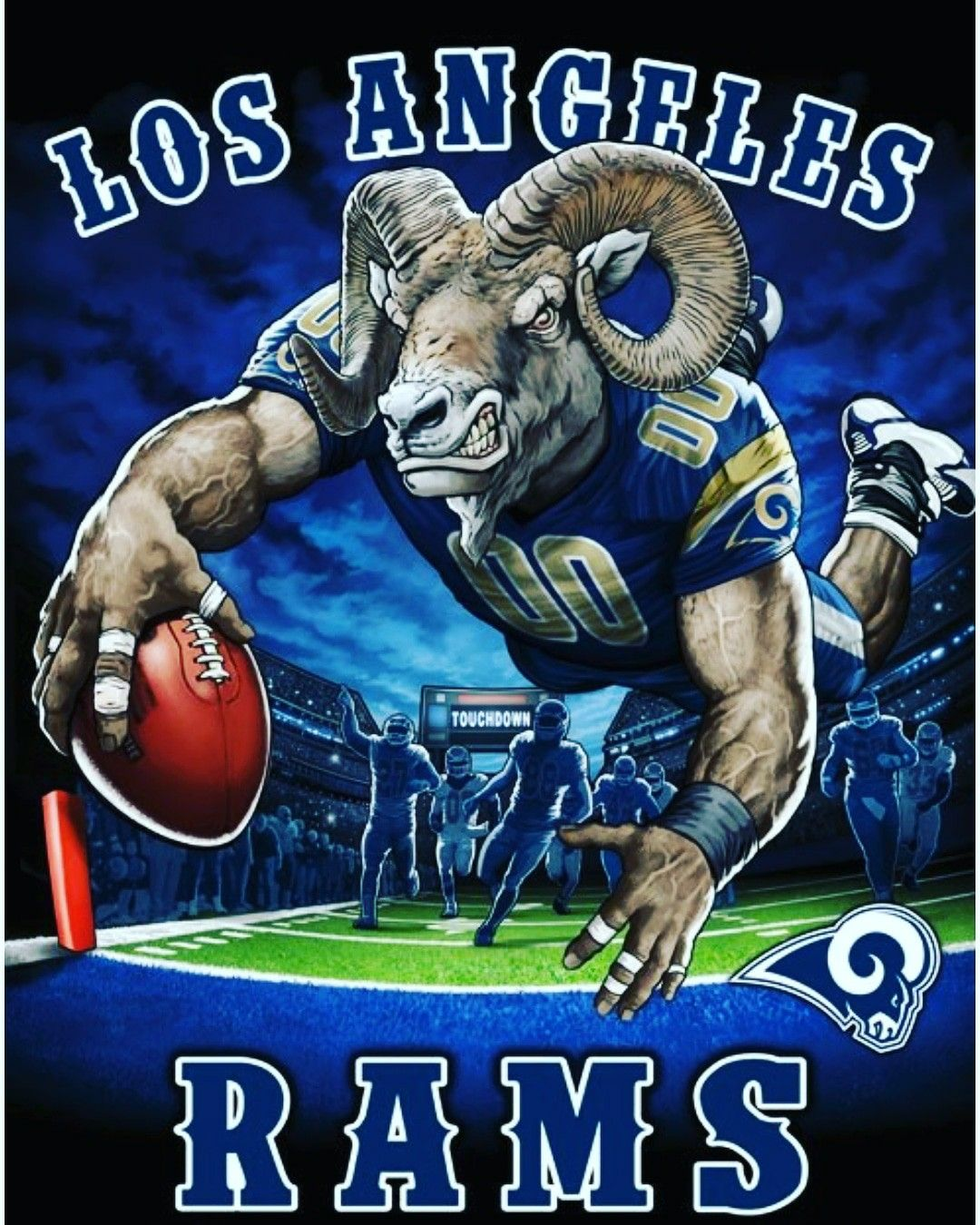 Pin On Los Angeles Rams