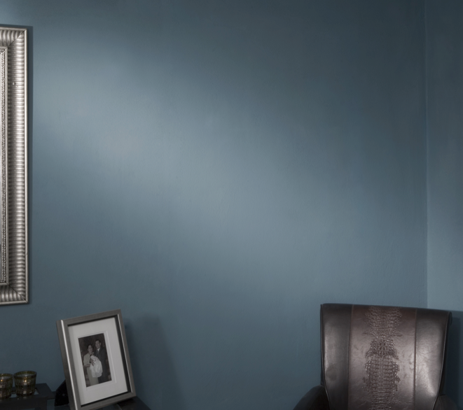 Si quieres oscurecer una habitación, este color es el ideal.