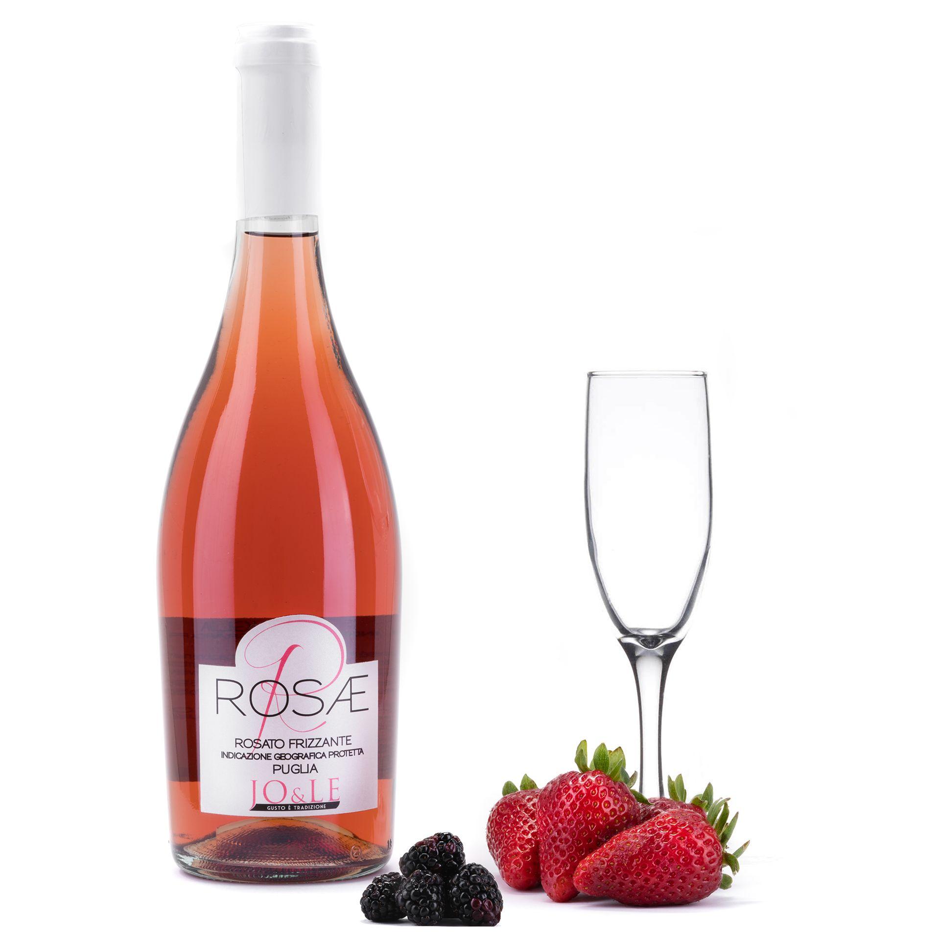 Rosae Rosato Frizzante Igp Vino Rose Frizzante A Fermentazione Naturale Prodotto Da Uve Della Puglia Perfett Bottiglie Di Vino Vino Rose Taglieri Di Formaggi