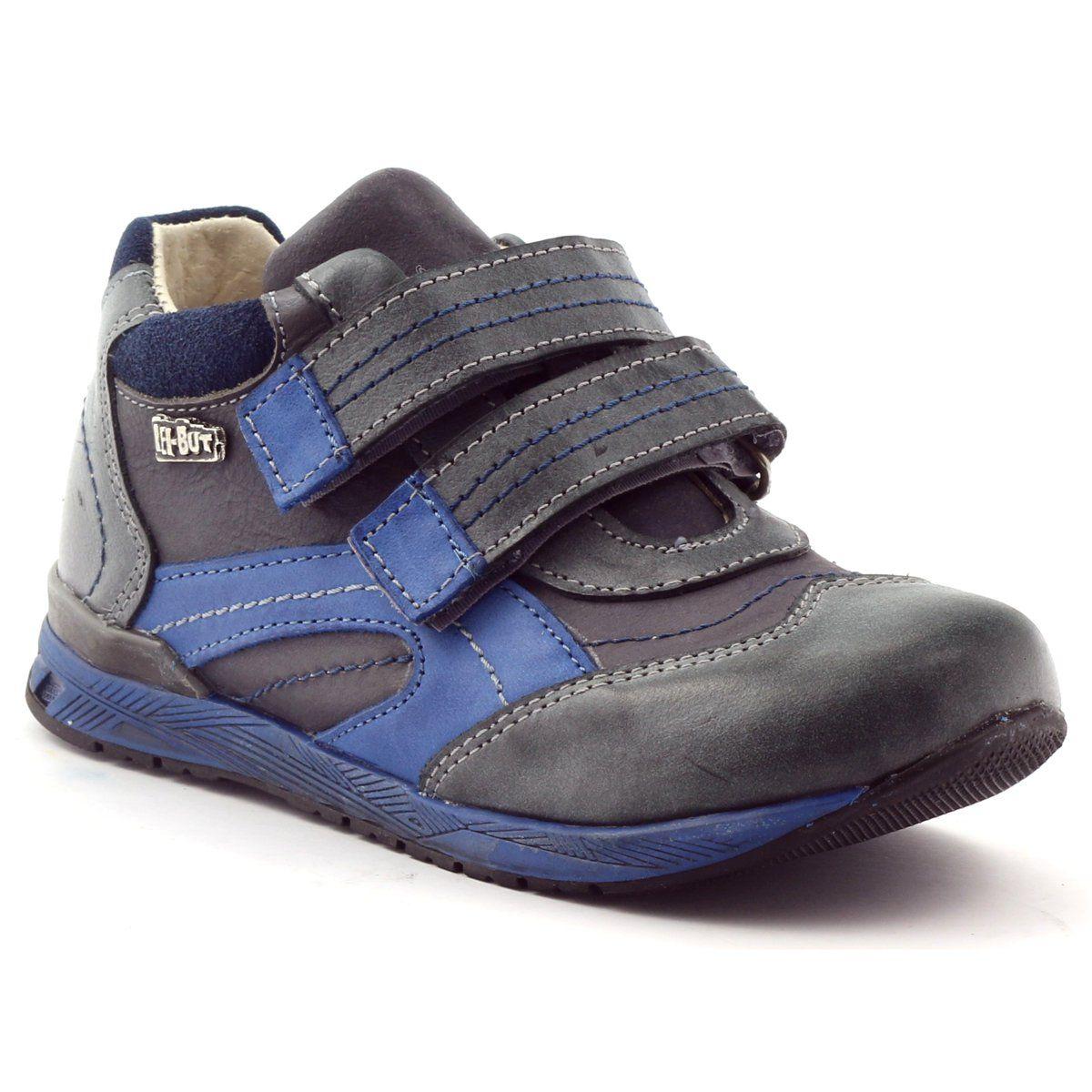 Trzewiki Buty Chlopiece Ren But 3267 Wielokolorowe Niebieskie Wedge Sneaker Shoes Sneakers