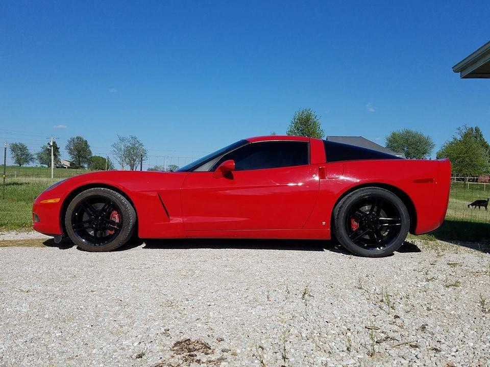 Fits Corvette Wheels C6 Z06 Rims Cv07b Black 19x10 18x9 5 Staggered Corvette Corvette Wheels Chevrolet Corvette