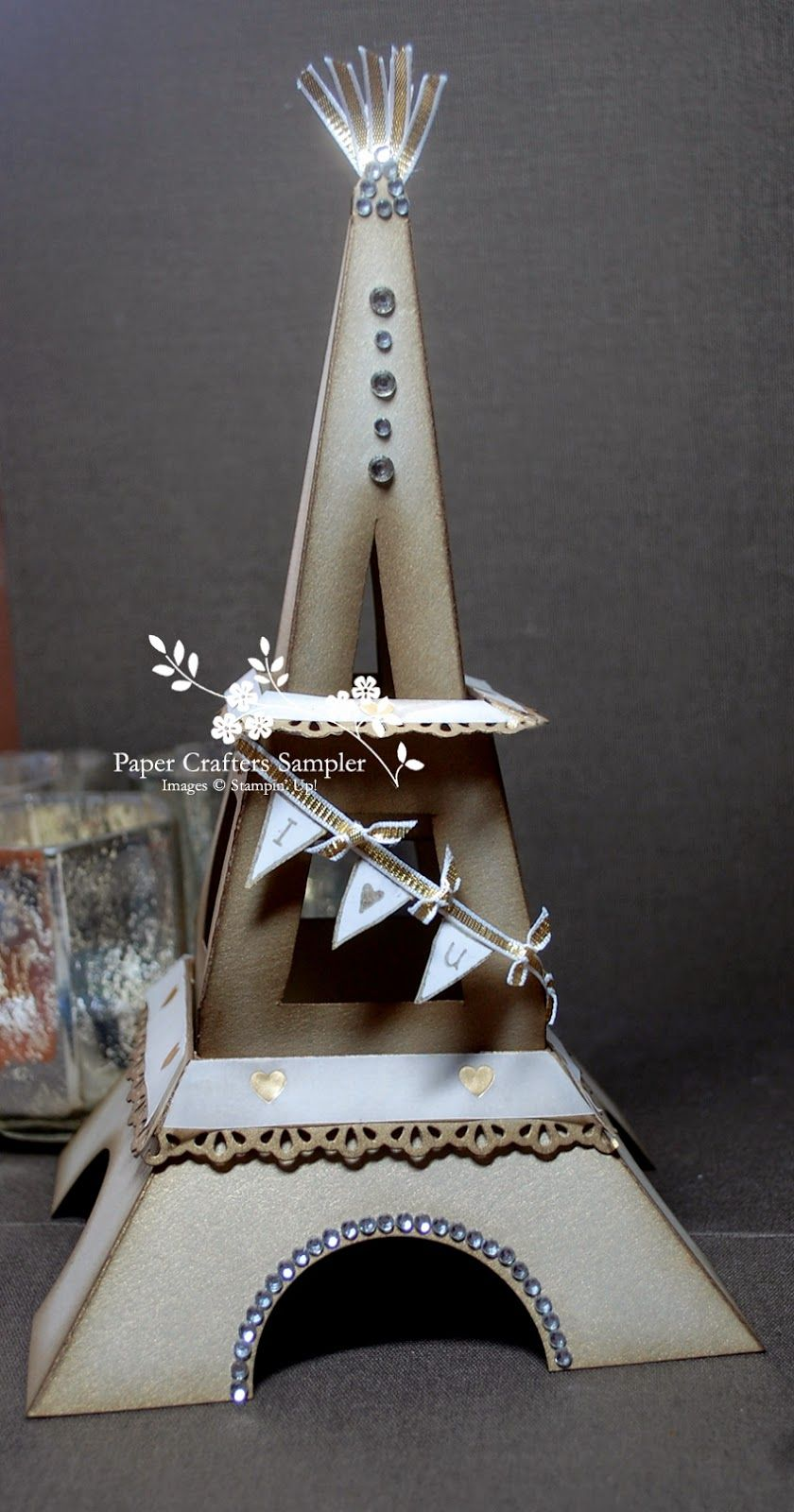 Eiffel Tower template - Paper Crafters Sampler http ...