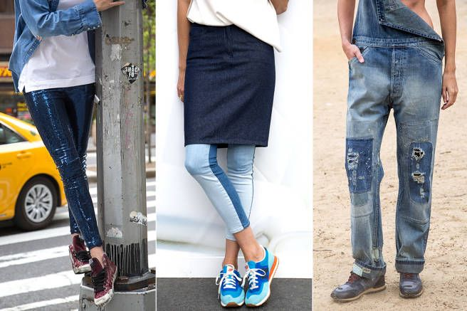 The Must Have Jeans and Sneakers - Spring Jeans and Sneakers to Shop Now - Elle