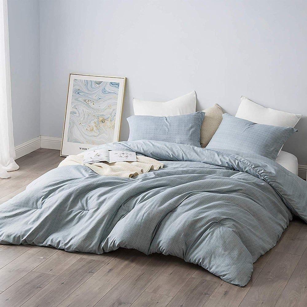 Borgo Oversized Comforter Supersoft Microfiber Bedding