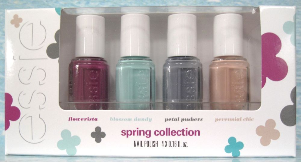 essie SPRING Collection 4-pc Mini Nail Polish Set~ flowerista ...