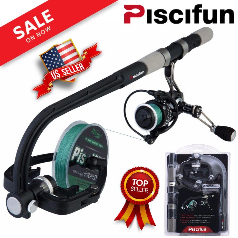 Piscifun Line Spooler Professional Portable Spooling Station Fishing Reel Winder