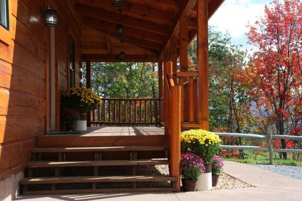 Log Cabin Entrance Light Google Search Sliding Doors Exterior
