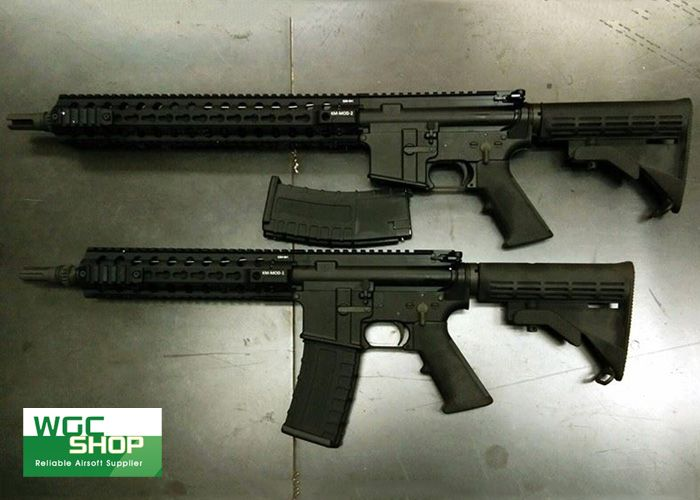 New GHK M4 MOD1 & MOD2 GBB Rifles | Airsoft and real guns