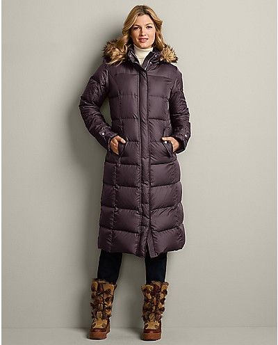 Essential Down Duffle Coat | Eddie Bauer | Clothes I actually can ...